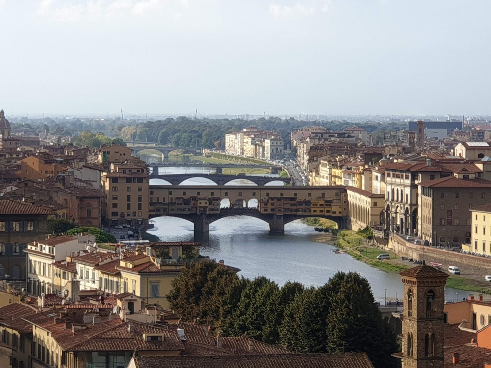 Vista Ponte Vecchio